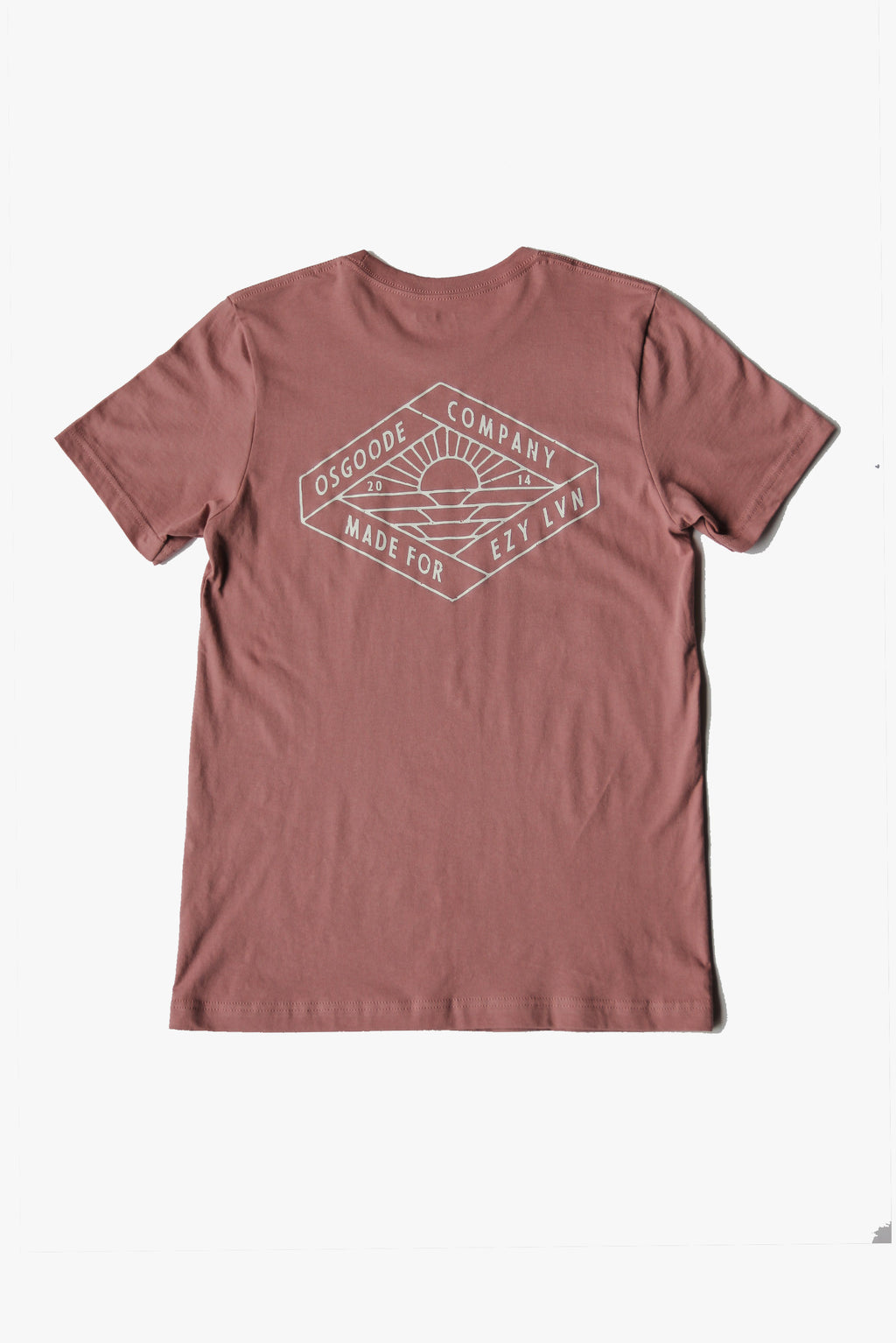 REGALIA T-SHIRT DUSTY ROSE