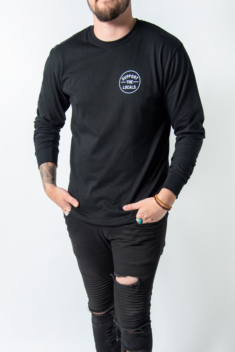 ORIGINAL LOGO LONG SLEEVE BLACK
