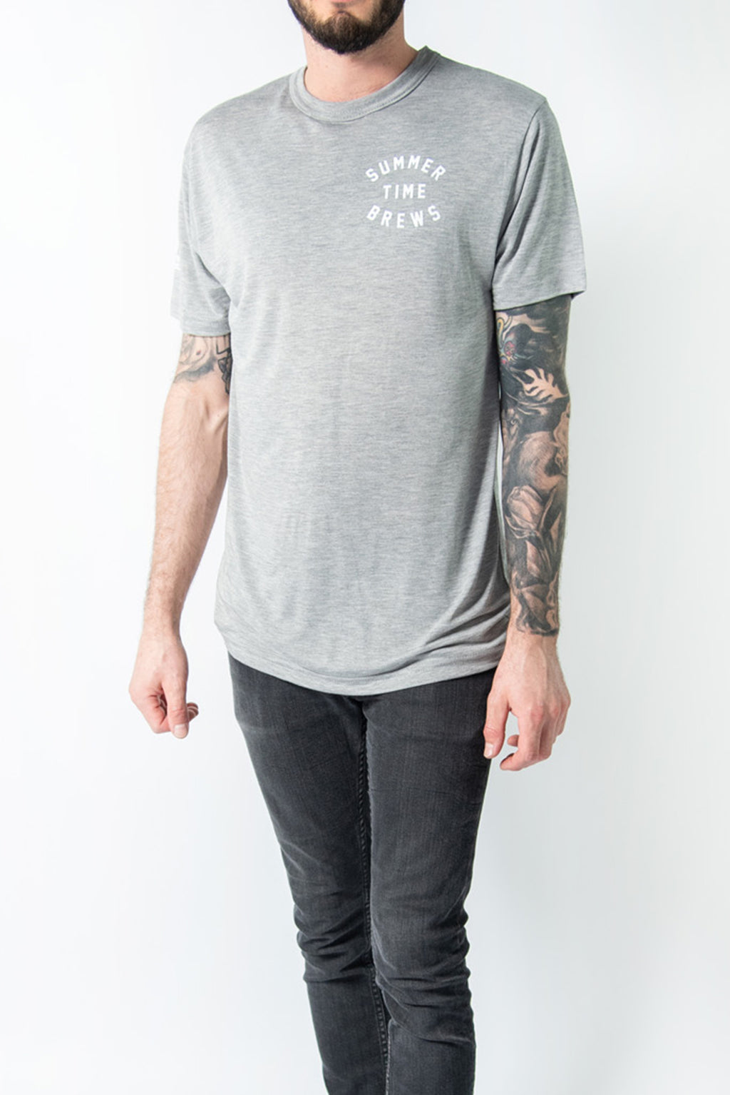 SUMMER TIME BREWS T-SHIRT GREY