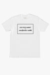 LESS STOCK MARKET T-SHIRT WHITE