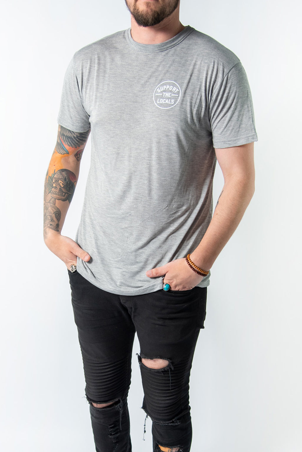 ORIGINAL LOGO T-SHIRT GREY