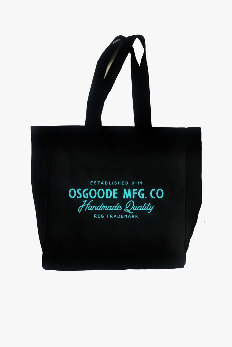 TRADEMARK CANVAS TOTE BLACK
