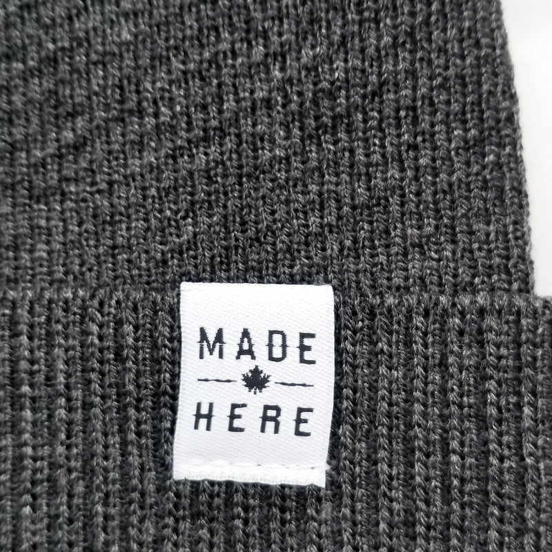 MADE HERE SLOUCHY CHARCOAL