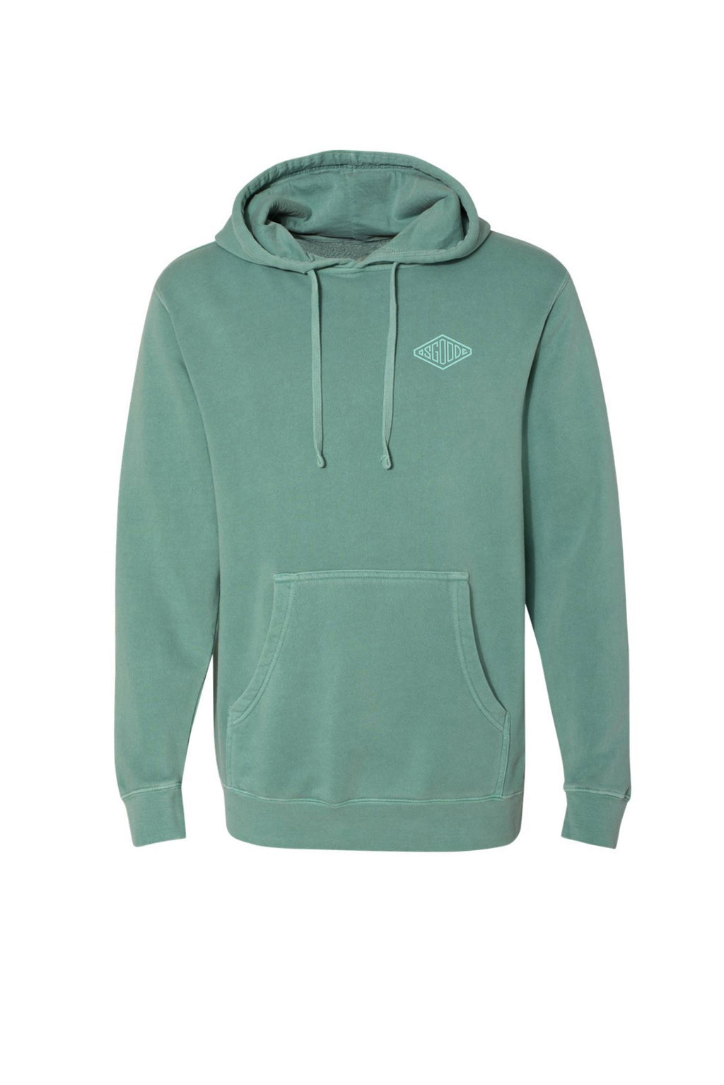 BOUNDLESS HOODIE TREE HUGGER GREEN