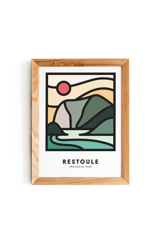 FRENCH RIVER PRINT