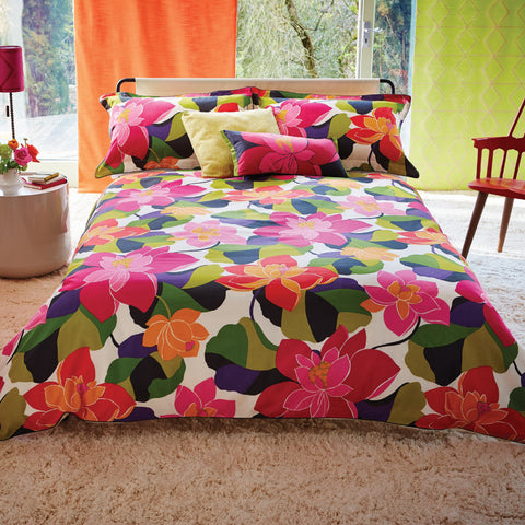 Prevleka za odejo Scion Diva Multicolored Floral
