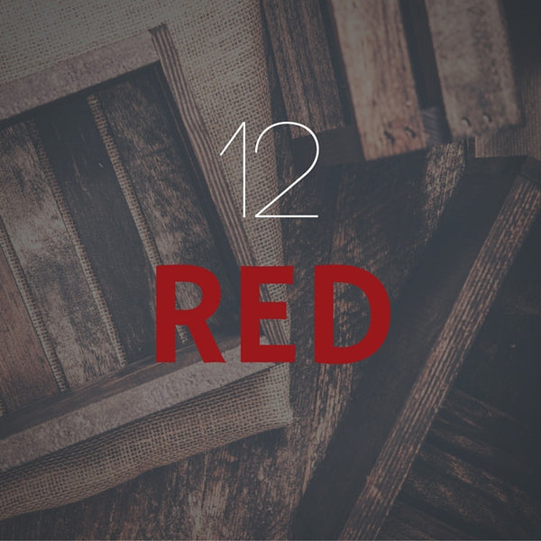 12 Bottle - Red