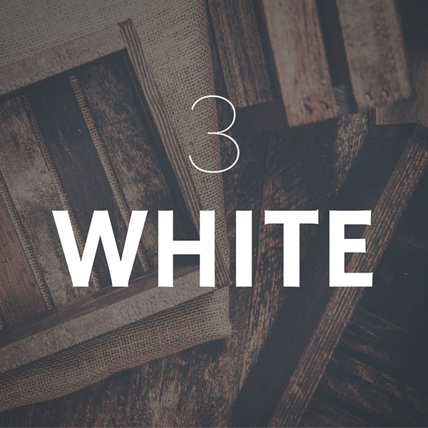 3 Bottle - White