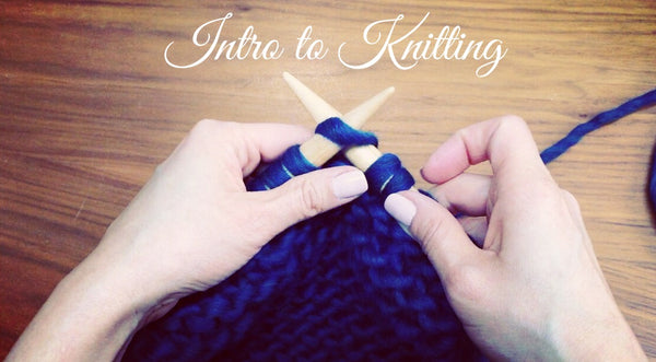 Intro to Knitting Class