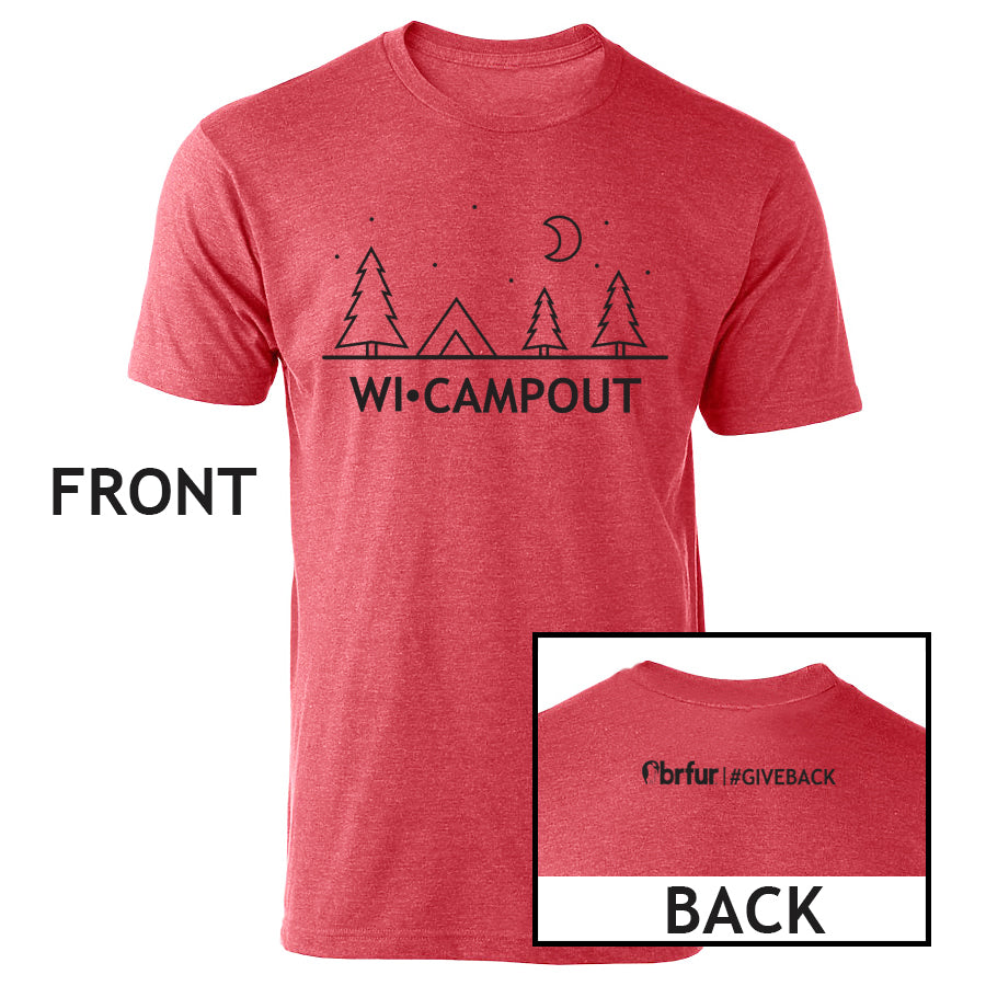 WI-CAMPOUT Tee