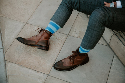 Business Socks - Woven Pear