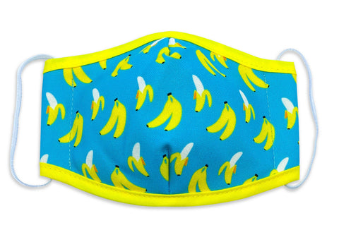 Reusable Face Mask Go Bananas - Woven Pear