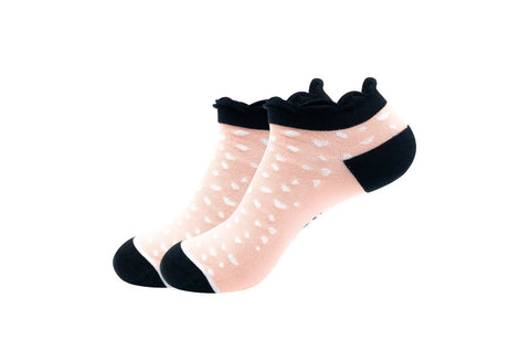 Rock On Ankle Sock Woven Pear