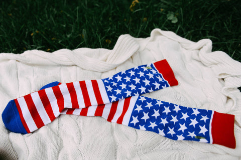 Stars and Stripes - Woven Pear