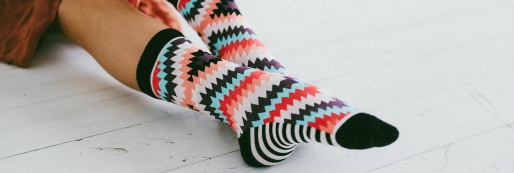 Patterned Socks