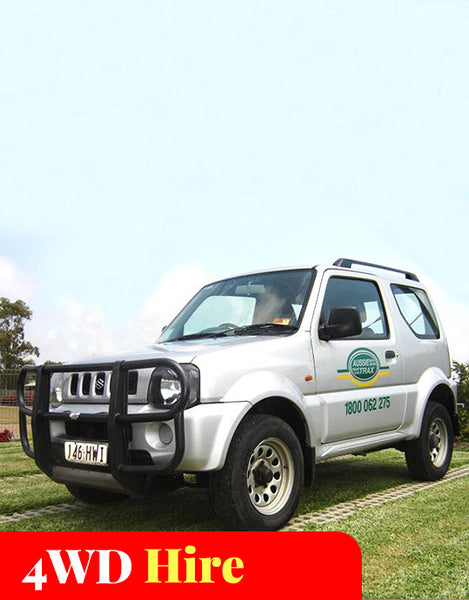 Fraser 4WD Hire (2-Seater)