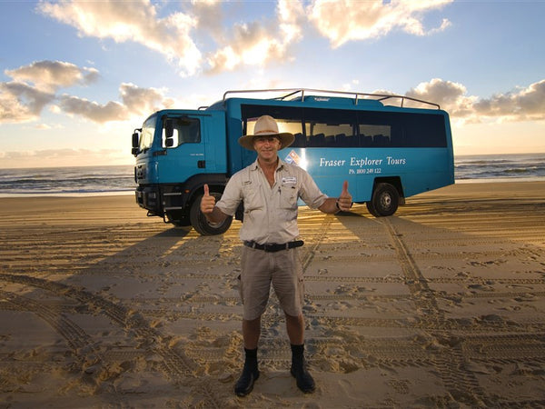 Fraser Island 2 Day/1 Night Guided Tour with Fraser Explorers
