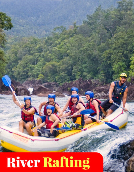 Full Day White Water Rafting (Tully River)