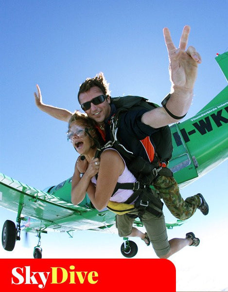 Skydive Byron with Video Package