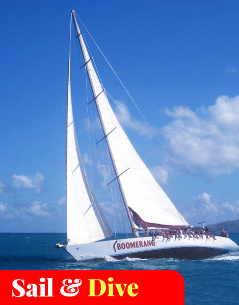 2-Days/2-Nights Maxi Yacht Sailing Whitsundays (Boomerang)