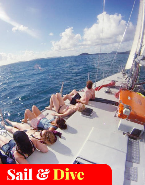 2 days/2 nights Maxi Yacht Sailing Whitsundays (Broomstick)