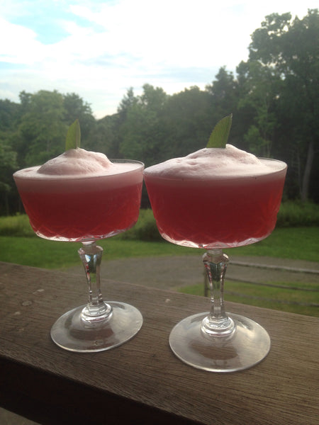 Raspberry Meringue Cocktail Recipe