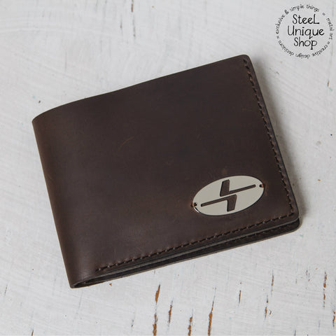 Leather Wallet with L7 badge