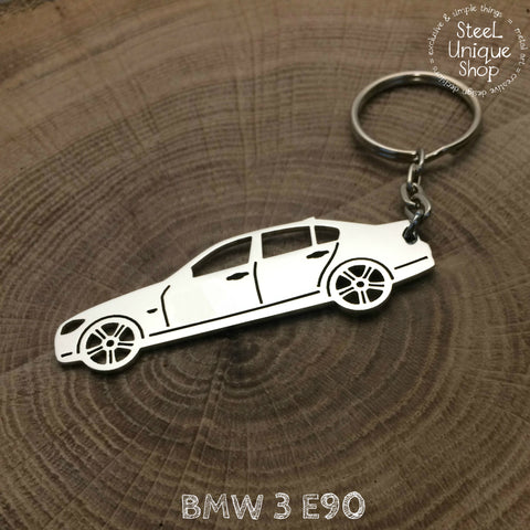 BMW 3 E90 Side Keychain