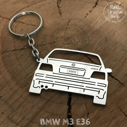 BMW M3 E36 Rear Keychain