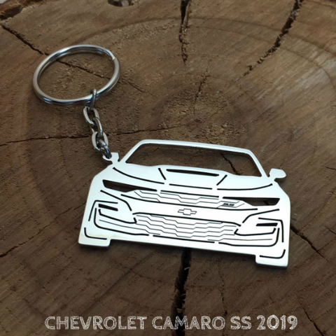 custom made stock keychain,1966 chevy nova-ss coupe,red pearl wchrome magshand made chain-jump rings-mint