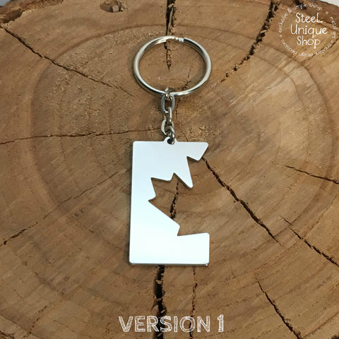 Canada Maple Leaf Keychain