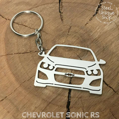 Chevrolet Sonic RS Keychain