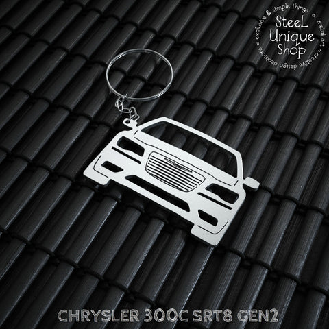 Chrysler 300C SRT8 Keychain