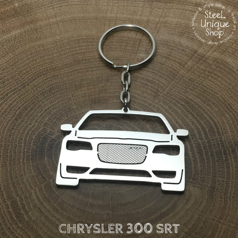 Chrysler 300 SRT Keychain