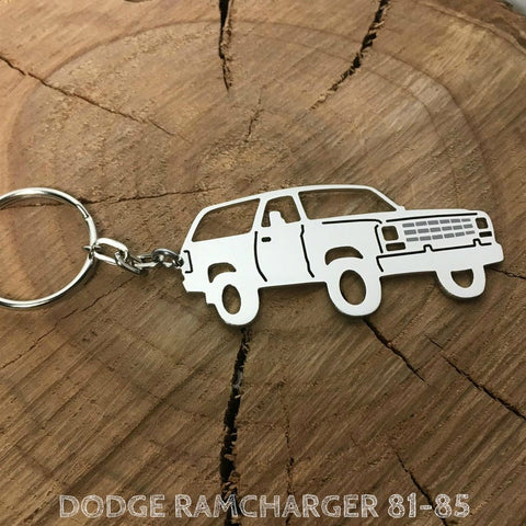 Dodge Ramcharger Keychain
