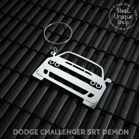 Dodge Challenger SRT Demon Keychain