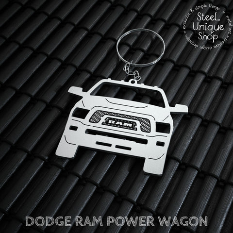 Dodge Ram Power Wagon Keychain