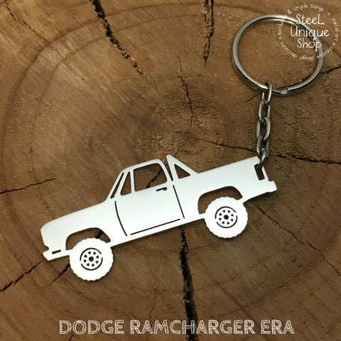 Dodge Ramcharger Era Keychain