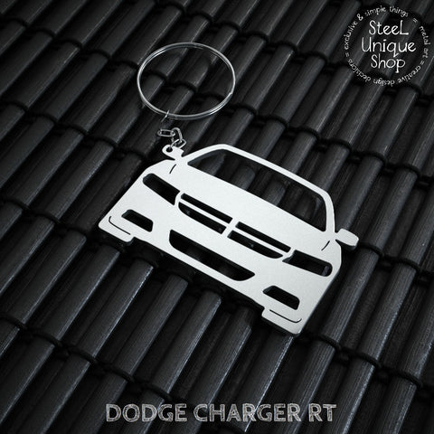 Dodge Charger RT Keychain
