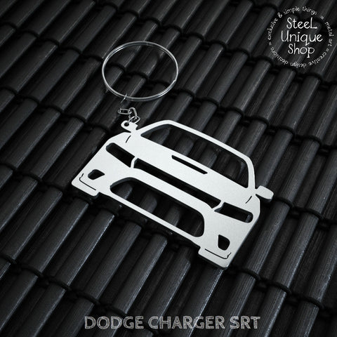 Dodge Charger SRT Keychain