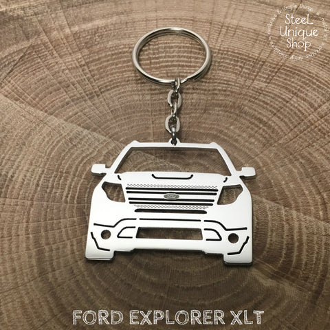 Ford Explorer Keychain