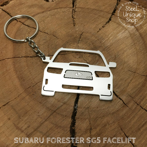 Subaru Forester SG5 Facelift Keychain