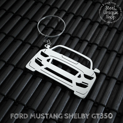 Ford Mustang Shelby GT350 Keychain