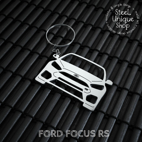 Ford Focus RS Keychain