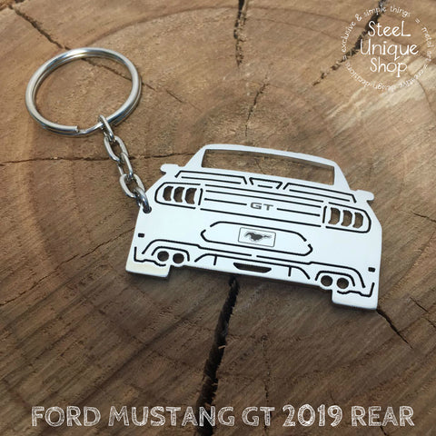 Ford Mustang GT 2019 Rear Keychain