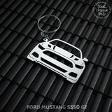 Ford Mustang S550 GT Keychain