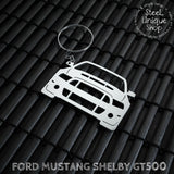 Ford Mustang Shelby GT500 Keychain