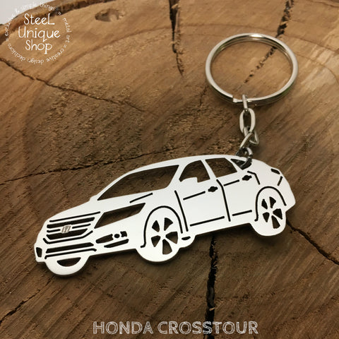 Honda Crosstour Side Keychain