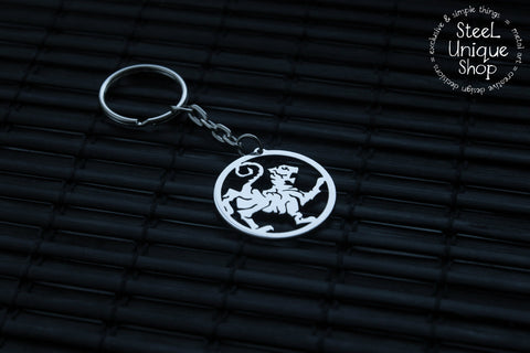 Shotokan Karate Tiger Keychain