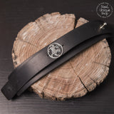 Shotokan Tiger Karate Leather Bracelet